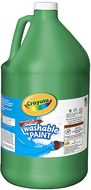 Washable paint gallon green