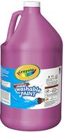 Washable paint gallon magenta