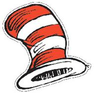 Dr seuss the cats hat cut-outs