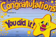 Awards congratulations