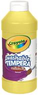 Artista ii tempera 16 oz yellow  washable paint