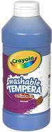 Artista ii tempera 16 oz blue  washable paint