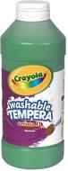 Artista ii tempera 16 oz green  washable paint