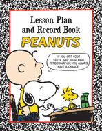 Peanuts lesson plan and record book