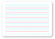 Single primary handwriting dry  erase board
