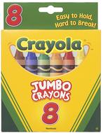 Crayons jumbo 8ct peggable tuck box