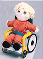 Boxed wheelchair