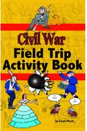 The civil war field trip activity  book