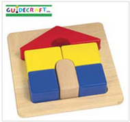 Primary puzzles house