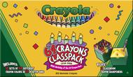Crayola crayons 64 color classpack  832 cnt