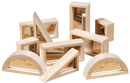 Mirror blocks set 10 pcs