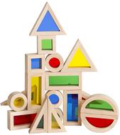 Jr rainbow blocks 20 piece set