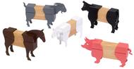 Farm animals block mates