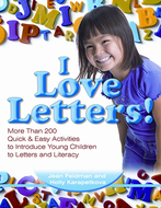 Quick & easy activities i love  letters