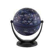 Swivel & title 4in mini globe stars