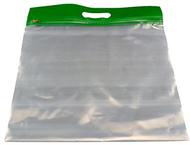 Zipafile storage bags 25pk green