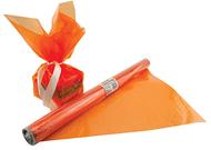 Cello wrap roll orange