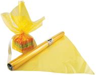Cello wrap roll yellow