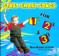 Start smart songs for 1s 2s & 3s cd
