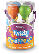Twisty droppers set of 4