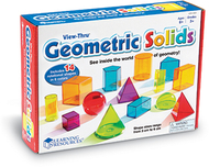 View thru geometric solids