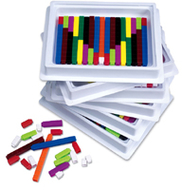 Cuisenaire rods multipack 6st of 74