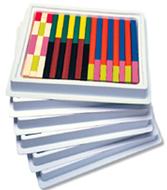 Cuisenaire rods multi-pack plastic