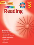 Spectrum reading gr 3 workbook