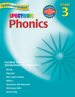Spectrum phonics gr 3