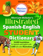 Merriam websters illustrated  spanish english student dictionary