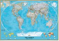 World mural map