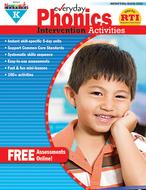 Everyday phonics gr k intervention  activities