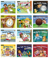 Nursery rhyme tales content area  leveled readers english 12 titles
