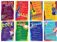 Music genres bb set