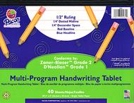 Dnealian multi-program handwriting  ppr 1 10 1/2 x 8 1/2 l