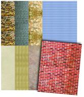 Royco building design paper 32  sheets 3 1/2 x 11 8 designs