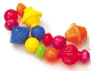 Brilliant beads 100/pk