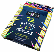Sargent art colored pencils 72  colors