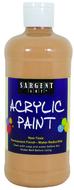 16oz acrylic paint - peach