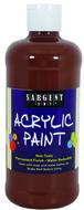 16oz acrylic paint - brown