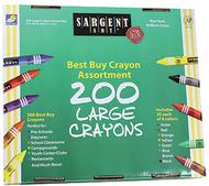 Sargent art large crayons 200 large  size
