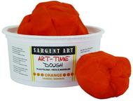 1lb art time dough - orange