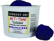 3lb art time dough - violet