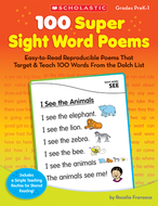 100 super sight word poems