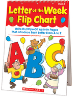 Letter of the week flip chart