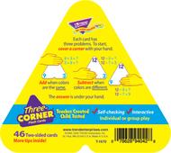 Three-corner flash cards 48/pk  addition & subtraction