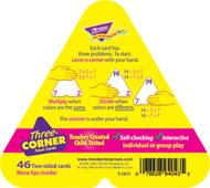 Three-corner flash cards 48/pk  multiplication & division