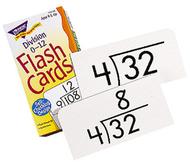 Flash cards division 0-12 91/box