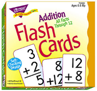 Flash cards all facts 169/box 0-12  addition