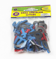 Magnetic foam small lowercase  letters